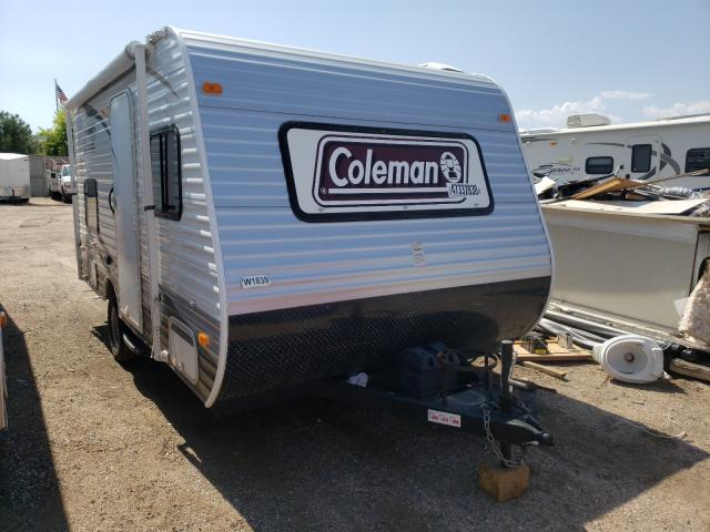 Coleman salvage cars for sale: 2013 Coleman Camper