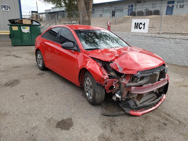 Salvage cars for sale from Copart Albuquerque, NM: 2015 Chevrolet Cruze LS