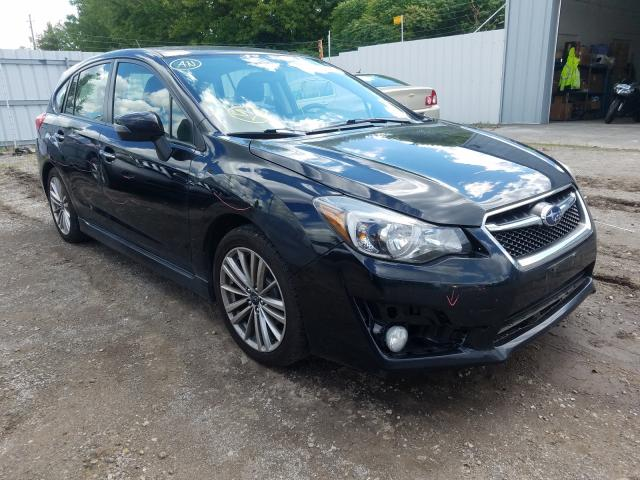 Salvage cars for sale from Copart London, ON: 2015 Subaru Impreza LI