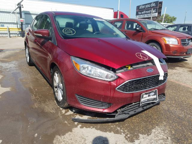 2016 Ford Focus SE en venta en Wichita, KS