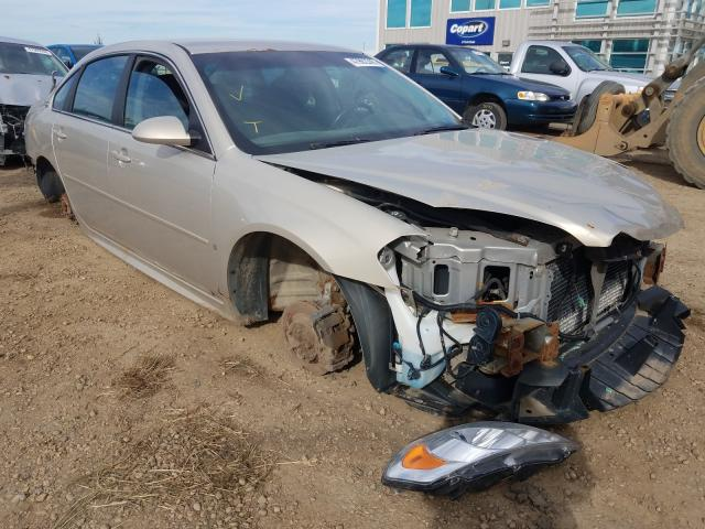 Chevrolet salvage cars for sale: 2009 Chevrolet Impala LS