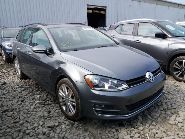Salvage cars for sale from Copart Windsor, NJ: 2015 Volkswagen Golf Sport