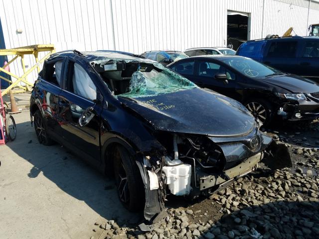 Salvage 2018 Toyota RAV4 SE for sale