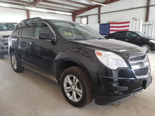 Salvage cars for sale from Copart Mercedes, TX: 2010 Chevrolet Equinox LT