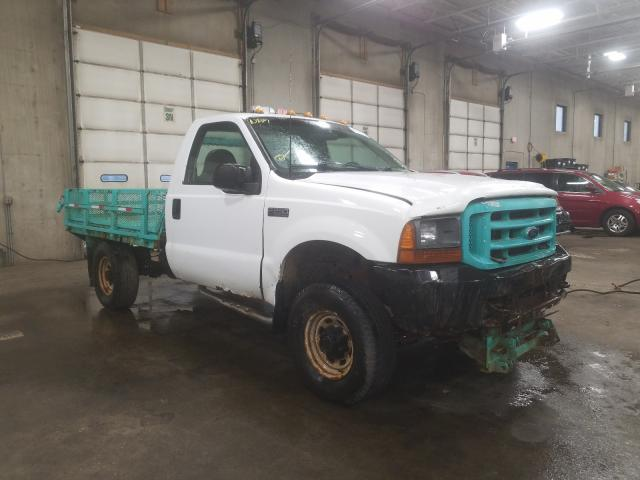 Ford F250 Super salvage cars for sale: 2001 Ford F250 Super