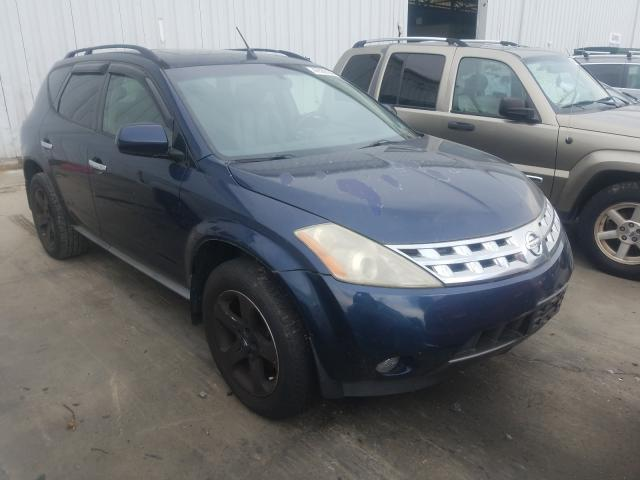 Salvage cars for sale from Copart Windsor, NJ: 2003 Nissan Murano SL
