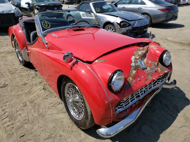 Triumph Convertibl salvage cars for sale: 1963 Triumph Convertibl