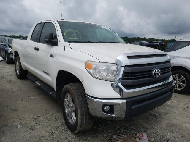 Toyota salvage cars for sale: 2015 Toyota Tundra DOU