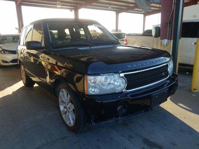 Salvage cars for sale from Copart Wilmer, TX: 2007 Land Rover Range Rover