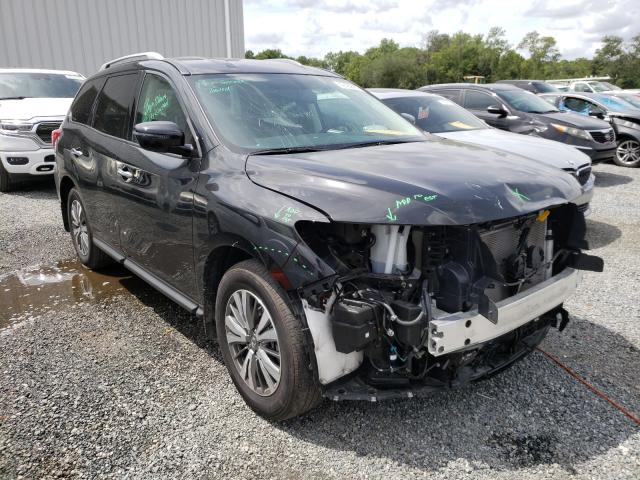 Salvage cars for sale from Copart Jacksonville, FL: 2019 Nissan Pathfinder