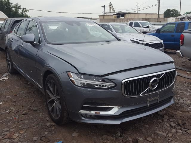 Volvo salvage cars for sale: 2017 Volvo S90 T6 INS