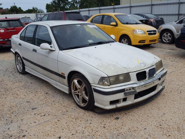 Salvage cars for sale from Copart Hampton, VA: 1997 BMW M3 Automatic