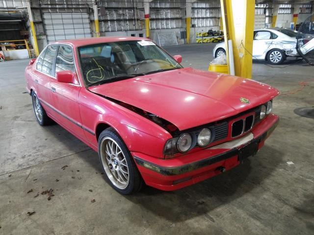 BMW salvage cars for sale: 1990 BMW 535 I Automatic