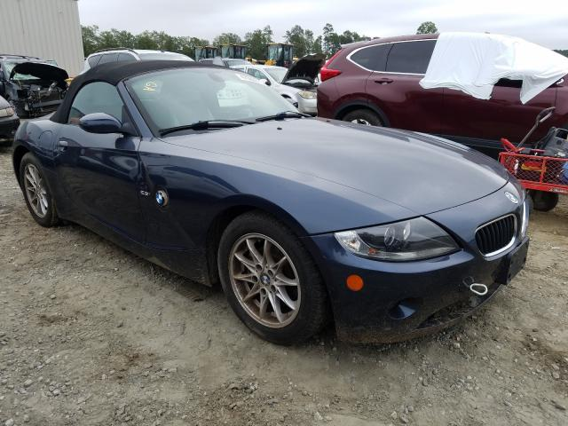 BMW Z4 2.5 salvage cars for sale: 2005 BMW Z4 2.5