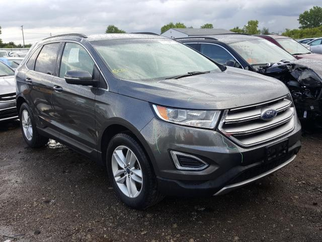 Salvage cars for sale from Copart Columbia Station, OH: 2015 Ford Edge SEL