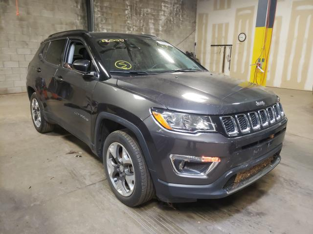 Jeep salvage cars for sale: 2018 Jeep Compass LI