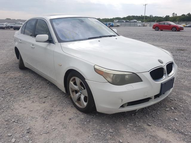 Salvage cars for sale from Copart Leroy, NY: 2006 BMW 525 I