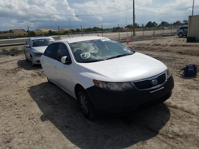 KIA Forte EX salvage cars for sale: 2012 KIA Forte EX