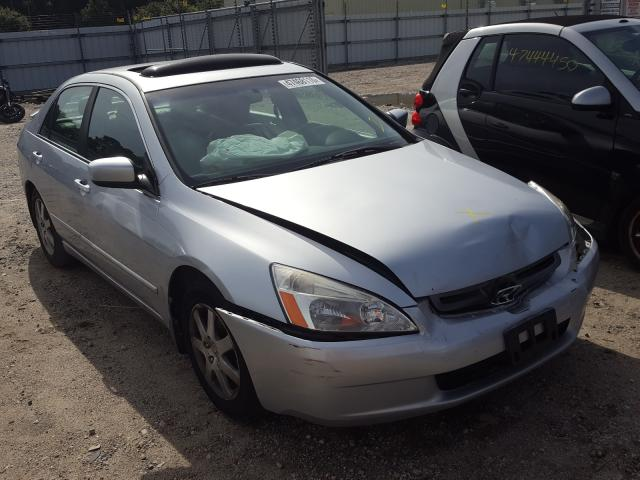 Salvage cars for sale from Copart Hampton, VA: 2005 Honda Accord EX