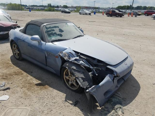 Salvage 2003 Honda S2000 for sale