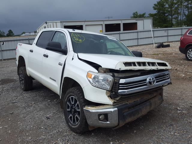 Salvage cars for sale from Copart Florence, MS: 2017 Toyota Tundra CRE