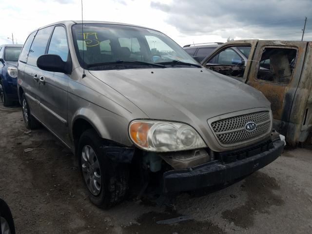 KIA Sedona EX salvage cars for sale: 2004 KIA Sedona EX