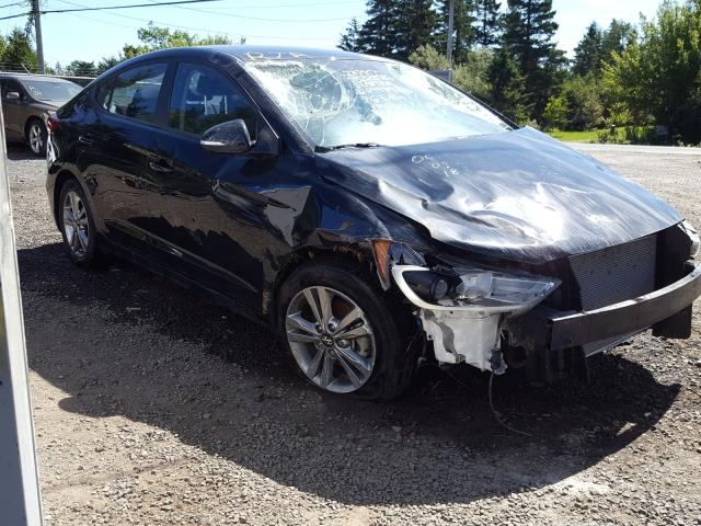 Salvage cars for sale from Copart Cow Bay, NS: 2018 Hyundai Elantra SE