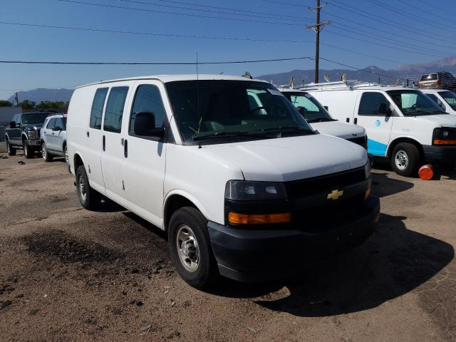 Salvage cars for sale from Copart Colorado Springs, CO: 2019 Chevrolet Express G2