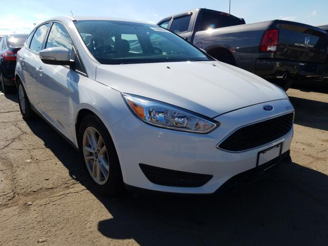 Salvage cars for sale from Copart Woodhaven, MI: 2018 Ford Focus SE