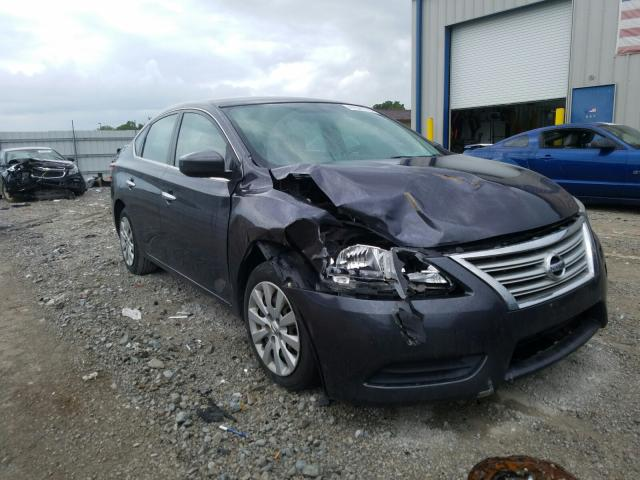 Salvage cars for sale from Copart Louisville, KY: 2014 Nissan Sentra S