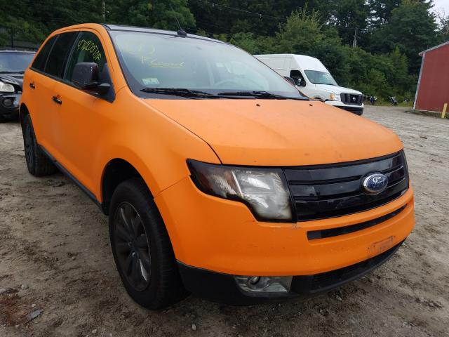 Salvage cars for sale from Copart Mendon, MA: 2009 Ford Edge Limited