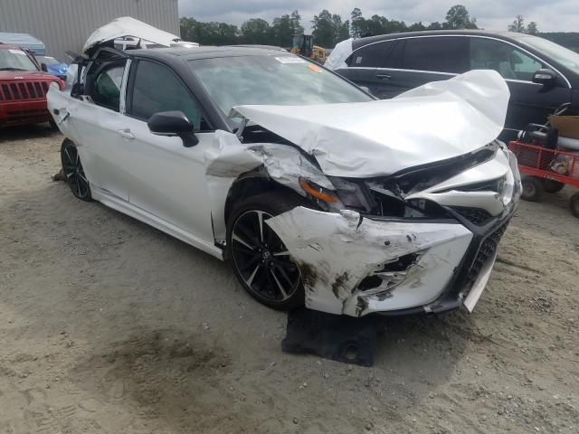 Salvage cars for sale from Copart Spartanburg, SC: 2018 Toyota Camry XSE