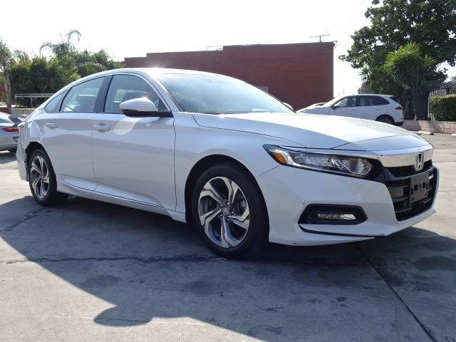 Salvage cars for sale from Copart Wilmington, CA: 2018 Honda Accord EXL