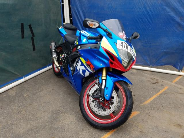 Salvage cars for sale from Copart Hillsborough, NJ: 2015 Suzuki GSX-R750