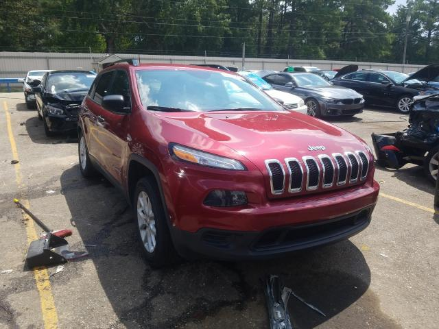 Salvage cars for sale from Copart Eight Mile, AL: 2016 Jeep Cherokee S