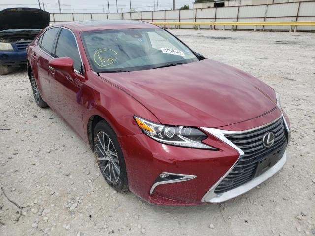 Lexus ES 350 salvage cars for sale: 2018 Lexus ES 350