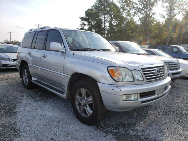 Lexus LX 470 salvage cars for sale: 2006 Lexus LX 470