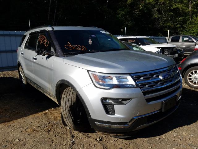 Ford Explorer L salvage cars for sale: 2018 Ford Explorer L