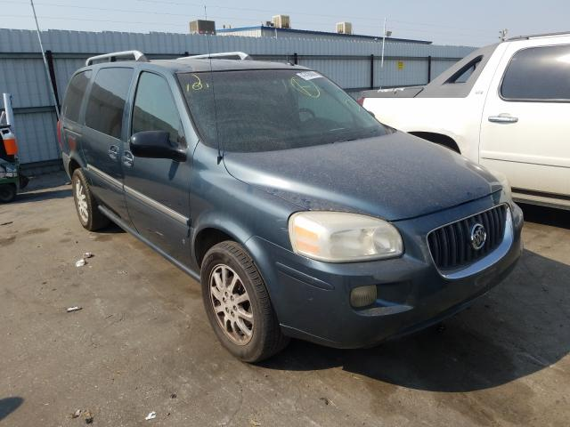 Salvage cars for sale from Copart Bakersfield, CA: 2006 Buick Terraza CX