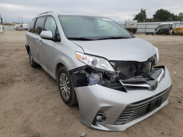 Salvage cars for sale from Copart Nampa, ID: 2019 Toyota Sienna XLE