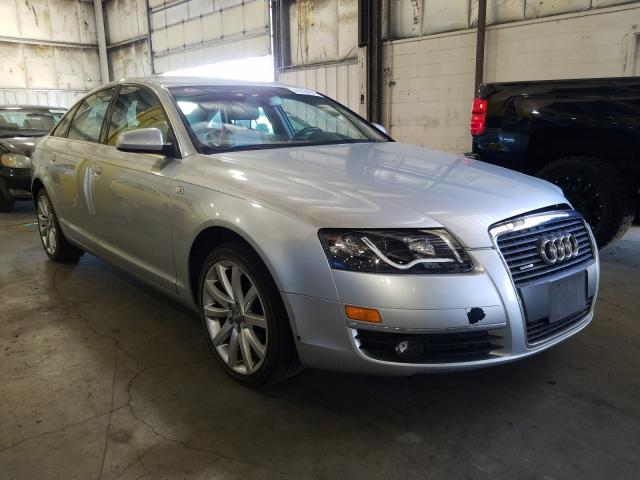 Salvage cars for sale from Copart Woodburn, OR: 2006 Audi A6 3.2 Quattro