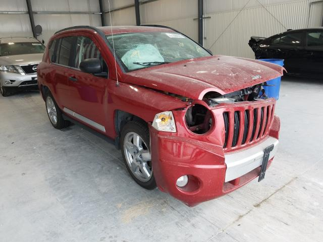 Jeep Compass LI salvage cars for sale: 2008 Jeep Compass LI