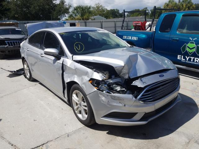 Salvage cars for sale from Copart Punta Gorda, FL: 2018 Ford Fusion SE