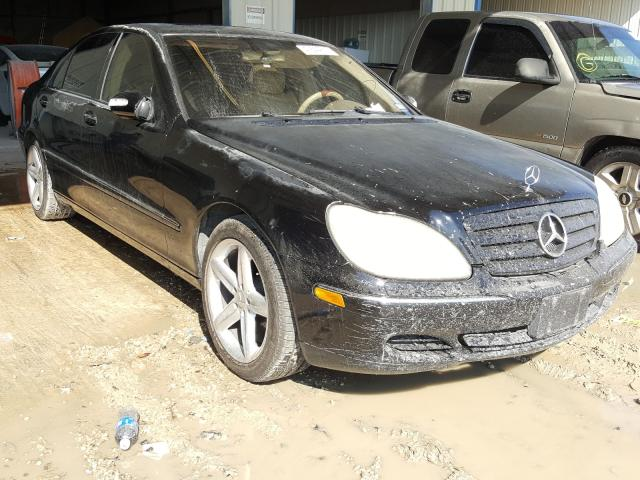 Mercedes-Benz S 430 salvage cars for sale: 2004 Mercedes-Benz S 430