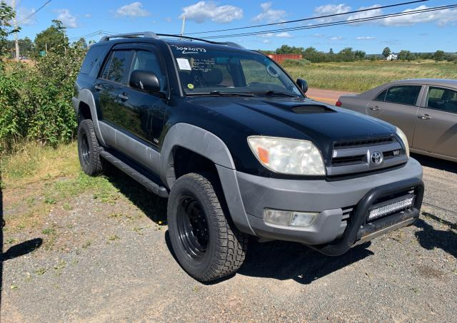Salvage cars for sale from Copart Cow Bay, NS: 2003 Toyota 4runner SR