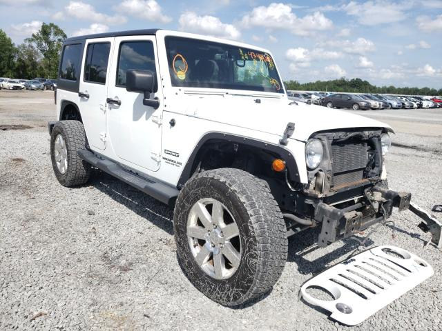 Jeep salvage cars for sale: 2014 Jeep Wrangler U