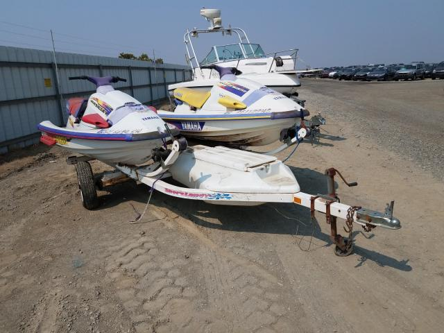 Salvage cars for sale from Copart Martinez, CA: 1996 Yamaha 2JETSK+TRL