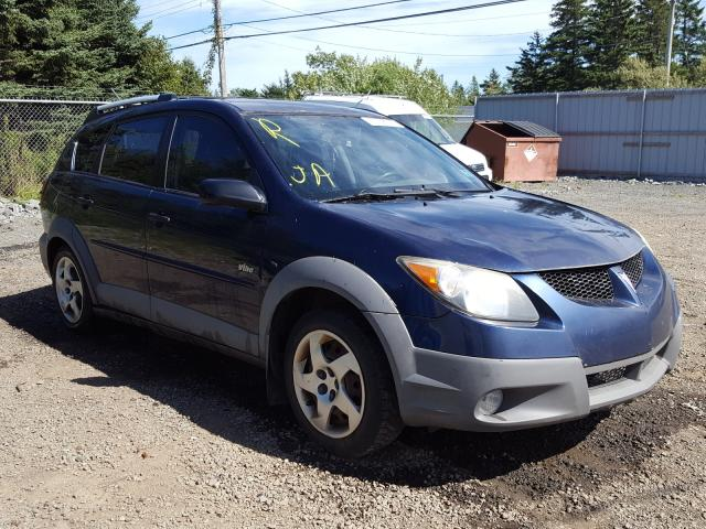 Salvage cars for sale from Copart Cow Bay, NS: 2003 Pontiac Vibe