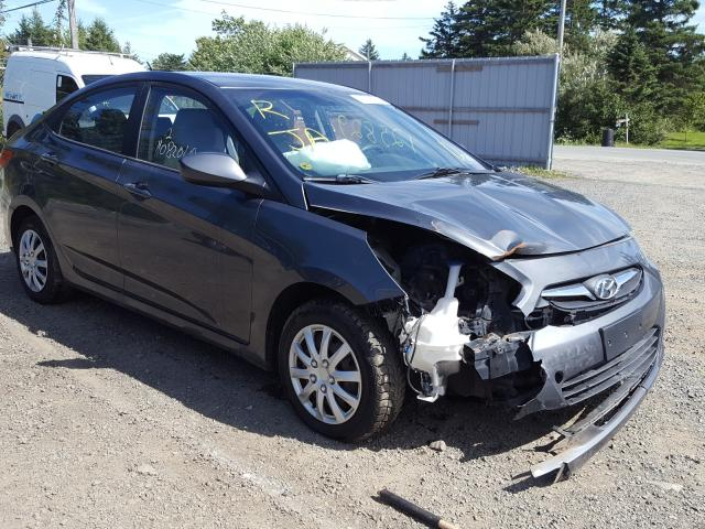 Salvage cars for sale from Copart Cow Bay, NS: 2012 Hyundai Accent GLS