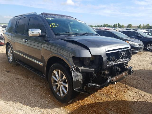 Infiniti QX56 salvage cars for sale: 2009 Infiniti QX56